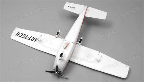 2 4ghz 4 Channel Plane R C Blue tech 980mm sky trainer plane 4 channel rc remote