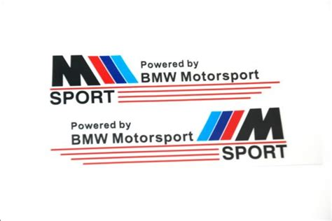 Bmw V8 Aufkleber by Souq M Bmw Motorsport High Quality Car Mirror Stickers