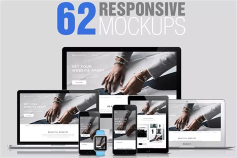 71 Website Mockup Psd Free Download Design Templates Website Presentation Template