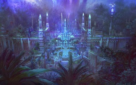 fantasy city wallpapers wallpaper cave