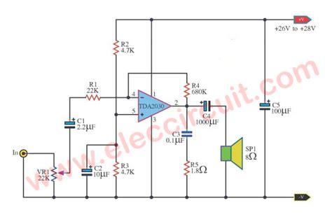 Tda2030a Tda2030 Tda 2030a Tda 2030 Ic Power Audio Lifier 20w Multi Purpose Lifier Using Tda2030 Circuit