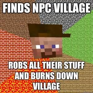 Minecraft Meme - minecraft villager memes