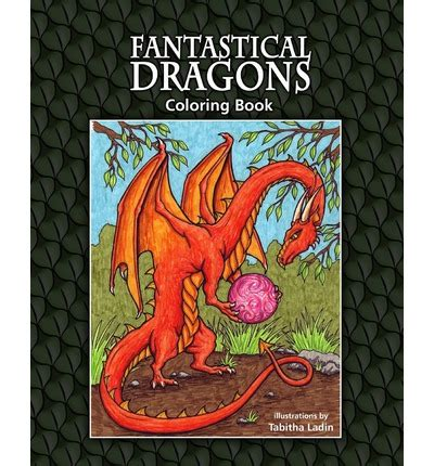 coloring book dragons volume 1 books fantastical dragons coloring book ladin