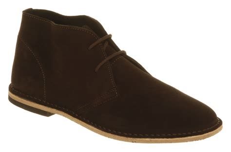office desert boot brown suede in brown for