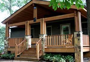 Plans For Cottages And Small Houses by Fairfax Post Amp Beam Porch Traditional Porch Dc Metro