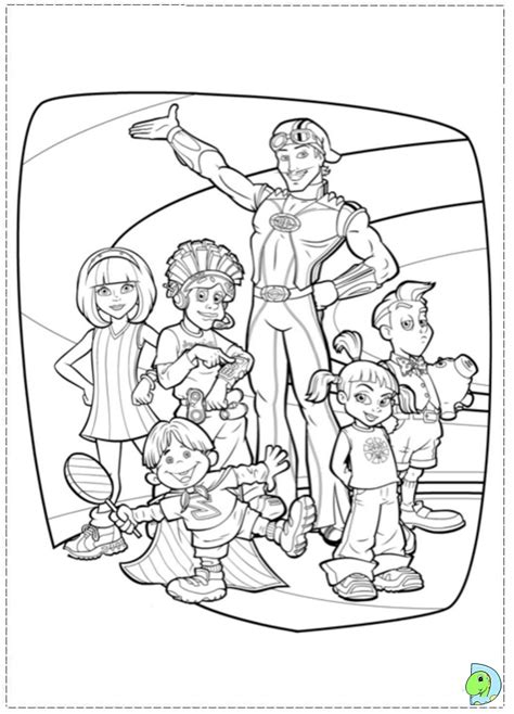 around town coloring pages