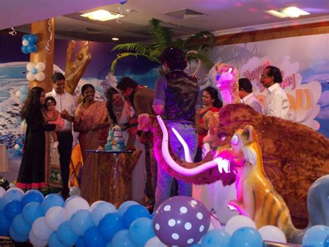 themed party organisers partytime with aladin kochi kerala birthday party