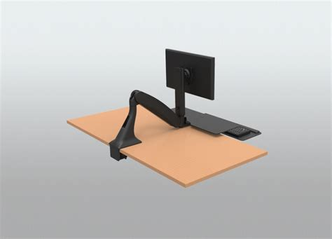 convert desk to stand up workstation stand up desk add on 28 images 1000 images about