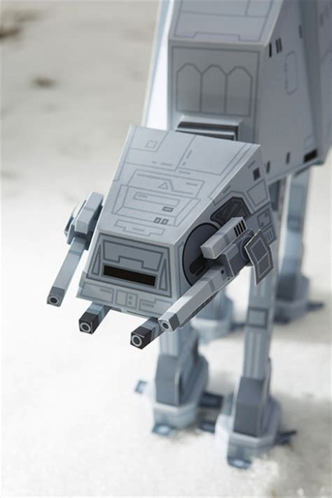 Papercraft At At - wars papercraft by south korean designers momot