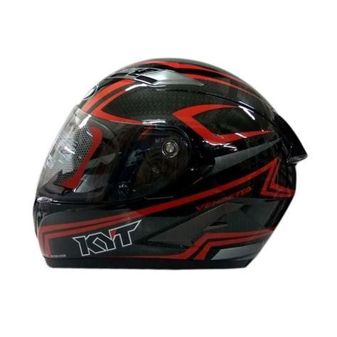 Helm Kyt Carbon jual kyt vendetta 2 carbon graphic helm black harga kualitas terjamin