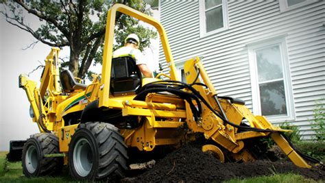 Landscape Supply Fowlerville Mi Trenchers Utility Installation Vermeer Midwest