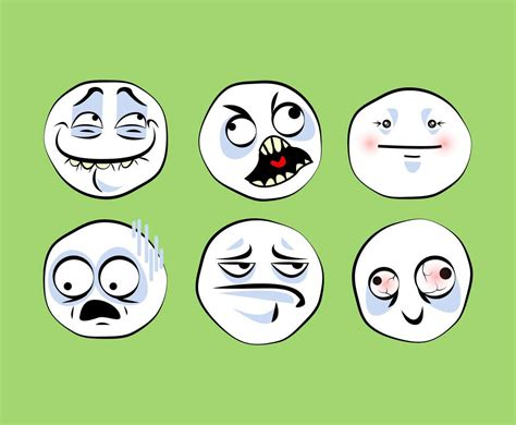 Meme Emoji - meme faces emoji vector vector art graphics freevector com