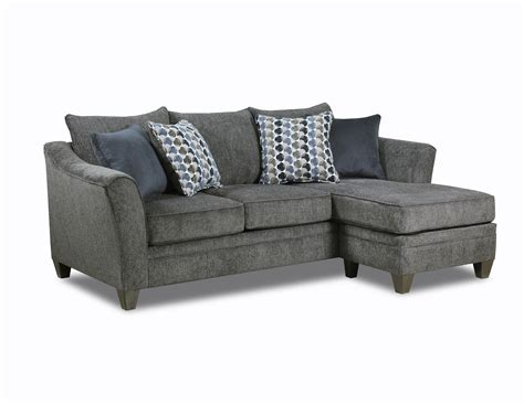 simmons albany sofa with chaise united furniture albany slate simmons sofa chaise the