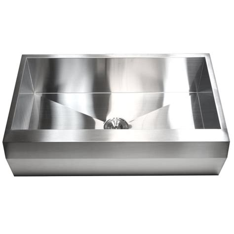 pitted stainless steel sink 36 inch stainless steel single bowl zero radius well