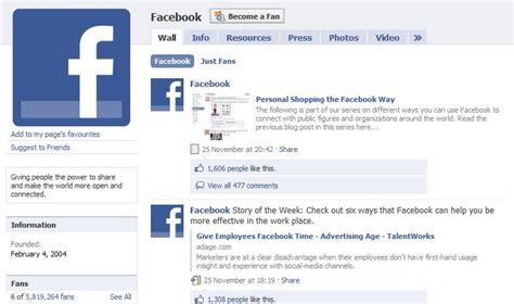 fb fan page a facebook fan page one of today s best marketing