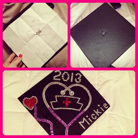 how to decorate graduation cap how to decorate a graduation cap nursing grad cap