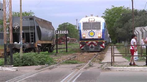 diario santiago estero prueba de trenes argentinos en la estaci 243 n de la banda