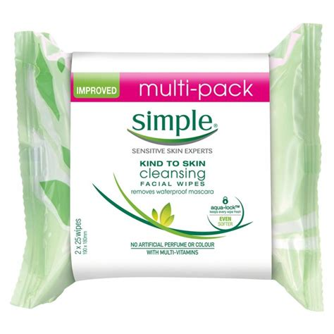 Priceline Detox Diet by Buy Cleansing Wipes Pack 50 Wipes By Simple