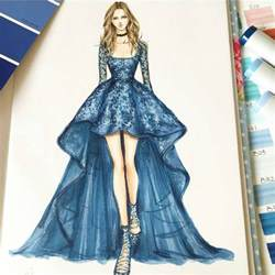 25 best ideas about fashion design sketches on