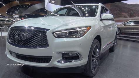 infiniti qx60 interior 2018 infiniti qx60 exterior and interior walkaround la