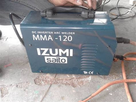 Mesin Las Fujiyama review mesin las listrik inverter izumi minimalist