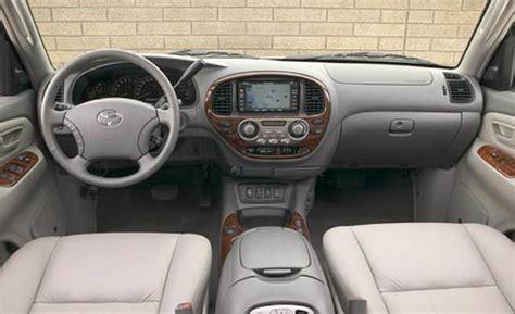 Toyota Sequoia Interior Car And Driver