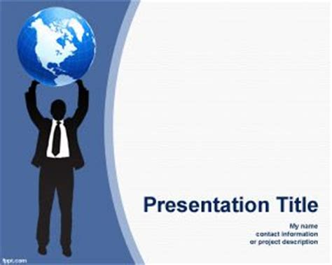 vocational themes exles career powerpoint template