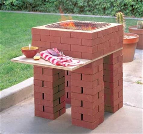 Backyard Brick Barbeques   Dig This Design