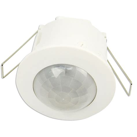 flush mounted recessed ceiling pir sensor 360 motion