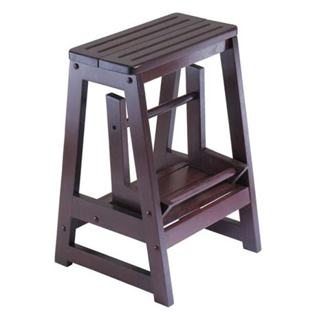 Winsome Wood Step Stool by Step Stool Winsome Wood Step Stools Stools Accent