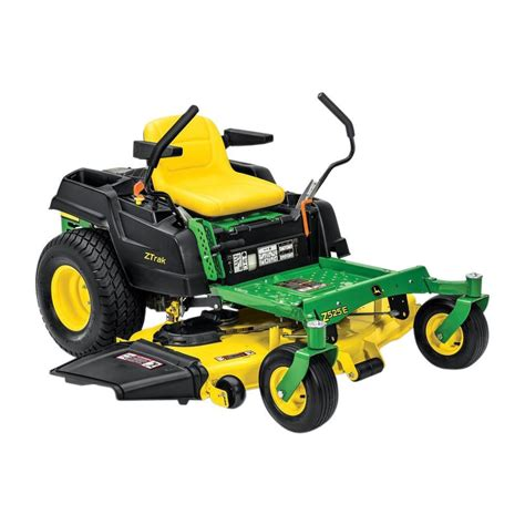 deere z525e 54 in 22 hp dual hydrostatic gas zero