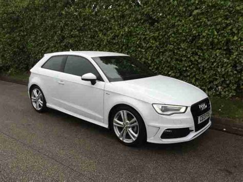 S Line Audi A3 For Sale by Audi 2013 A3 S Line Tdi White Car For Sale