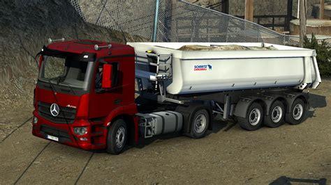 mercedes truck mercedes benz antos 12 ets2 mods euro truck simulator
