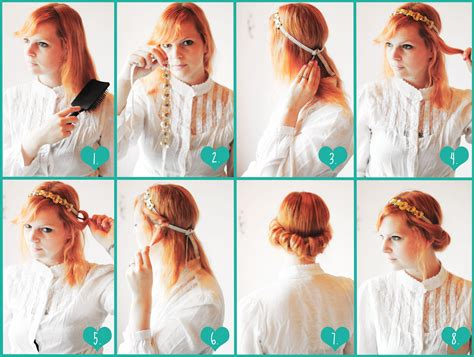 cute hairstyles tutorial 16 super easy hairstyles to make on your own