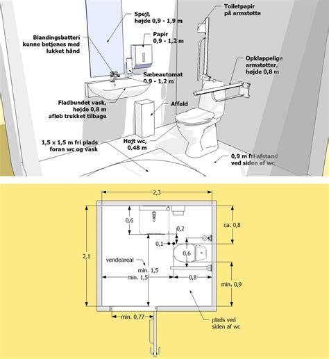 Gäste Wc Planen 4561 by Afstand Foran Toilet Fugtfjerner Jem Og Fix