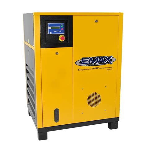 10 Hp Air Compressor - 10 hp rotary air compressor 3 phase emax industrial