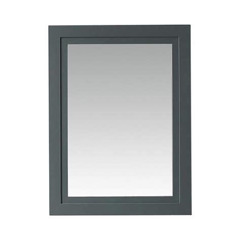 martha stewart schoolhouse lighting martha stewart living 24 in x 32 in framed mirror