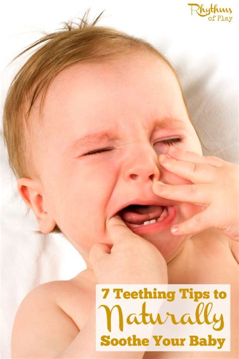 7 Ways To Soothe A Baby by Best 25 Baby Teething Remedies Ideas On Baby