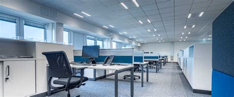 office de lighting for open plan offices open space offices trilux