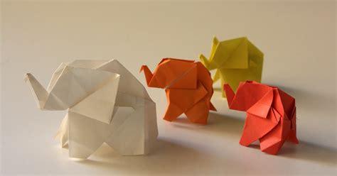 3d origami circus elephant tutorial origami maniacs origami elephant by fumiaki kawahata