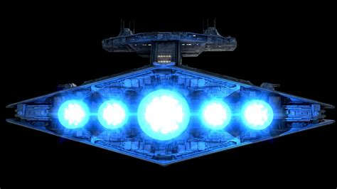 Vindicator Class Star Frigate Fractalsponge Net Wars Light Fixture