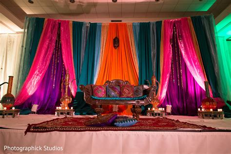Diwali Decoration Ideas For Home sangeet in baltimore md indian wedding by photographick