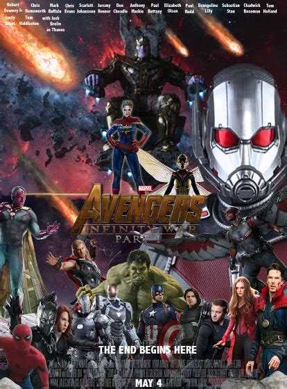 Plakat Infinity War by Infinity War Part I Poster By Themarionick On