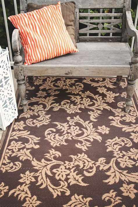 Outdoor Recycled Plastic Rugs Fab Habitat Recycled Plastic Rug Indoor Outdoor Rug
