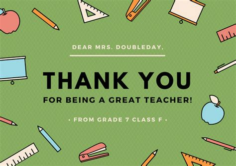 thank you cards template for teachers customize 58 thank you card templates canva