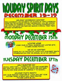 Holiday spirit dress up days images