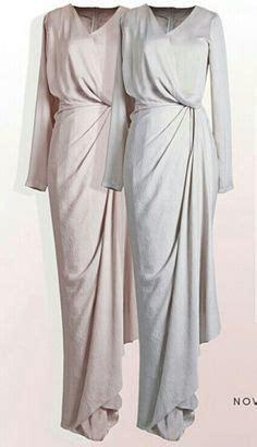 Faiza Dress Monochrome Maxi Gamis lace kaftan dress with flower embroidery