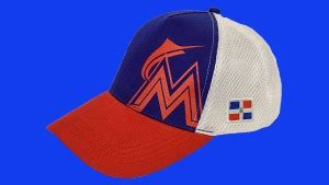 Marlins Giveaways - august 12 2016 miami marlins dominican heritage cap