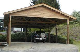 wooden carports 24 x 36 cedar carport attached carport