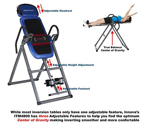 inversion table with heat and innova itm4800 advanced heat and therapeutic